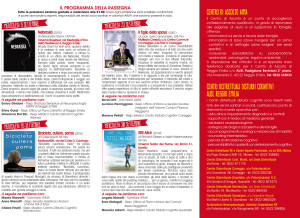 flyer a tre ante volta Aima Reggio Emilia rassegna Cinematografica 2015
