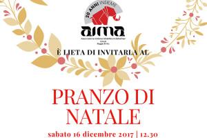leggi le informazioni sul pranzo di Natale di sabato 16 dicembre 2017 AIMA Associazione Malattia di Alzheimer Onlus Reggio Emilia