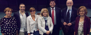 I relatori della serata al Multisala900 di Cavriago
