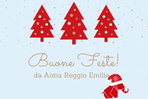 Buon Natale 2017 AIMA Associazione Malattia di Alzheimer Reggio Emilia