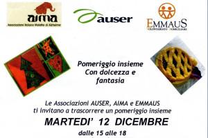 Martedì 12 dicembre festtegiamo Santa Lucia a Tempo d'Incontro con AIMA Auser ed Emmaus