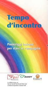 Pieghevole Tempo d'incontro AIMA Reggio Emilia