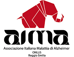 Logo AIMA, Associazione Alzheimer Reggio Emilia
