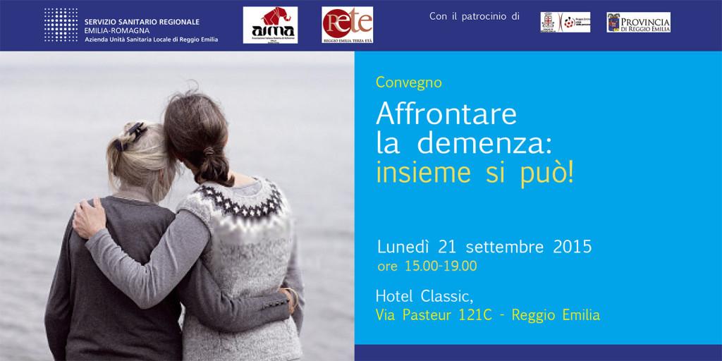 Convegno Demenze 21 settembre 2015 Reggio Emilia