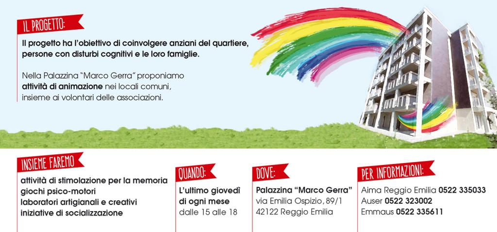 Progetto Pomeriggi in Palazzina AIMA Reggio Emilia