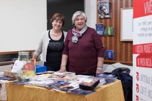 Le fantastiche volontarie dell'Associazione Malattia di Alzheimer di Reggio Emilia