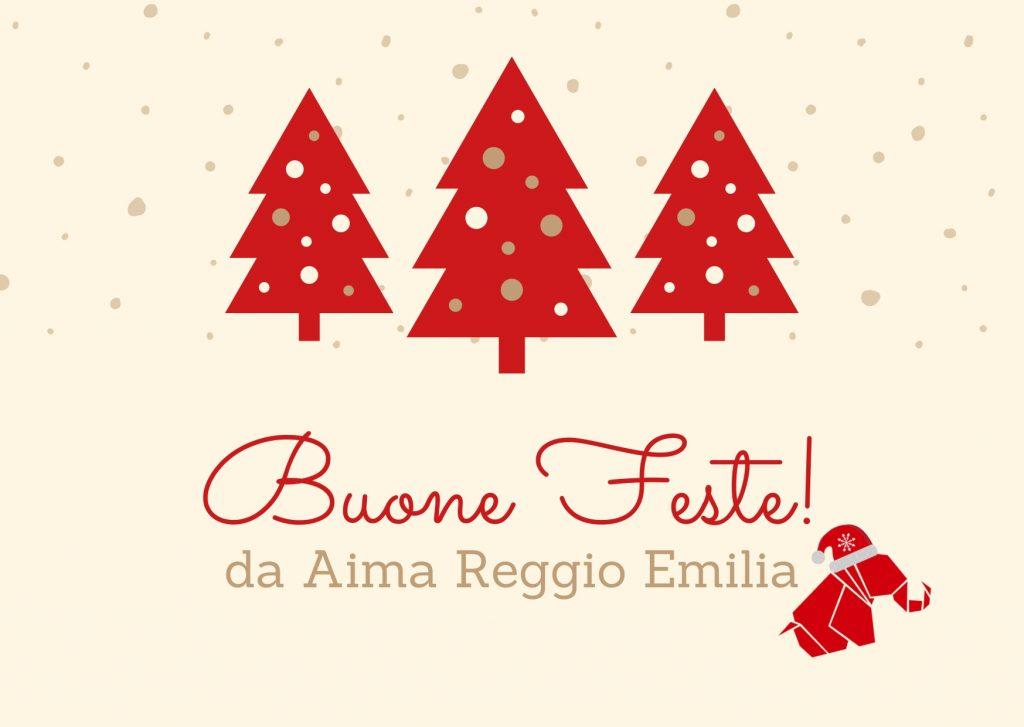 Auguri di Buone Feste da AIMA Reggio Emilia Natale 2019