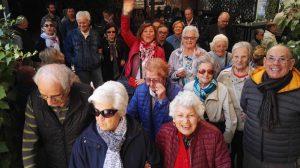 fotografia gita dei Caffè Incontro e di Tempo di Incontro progetti per persone con Alzheimer diAIMA Reggio Emilia
