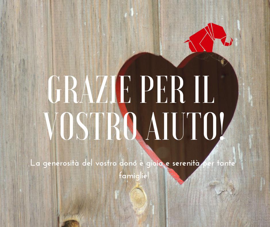 Grazie ai donatori e sostenitori di AIMA Reggio Emilia