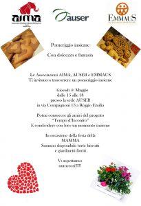Festa della Mamma 2019 a Tempo d'Incontro con AIMA Reggio Emilia