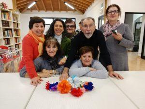 gruppo di operatori e volontari del progetto Il Passatempo