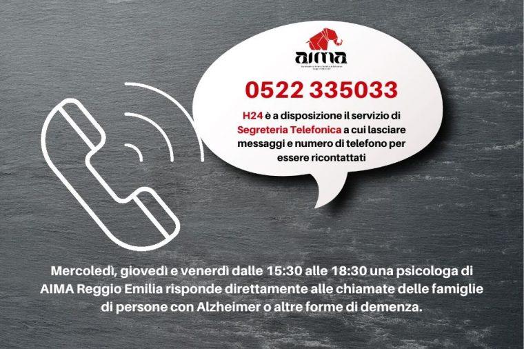 Centro di Ascolto AIMA attivo H24