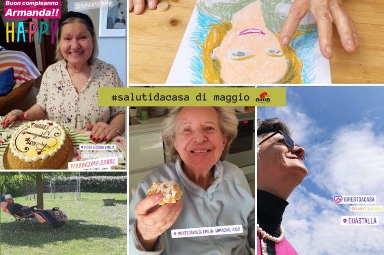 Video #salutidacasa di maggio AIMA Reggio Emilia