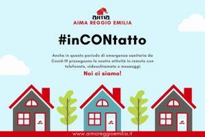 Attività in emergenza: #inCONtatto AIMA Reggio Emilia Odv