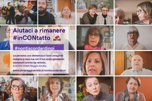 Nontiscordardinoi, aiutaci a rimanere in contatto - campgand i raccolta fondi AIMA Reggio Emilia