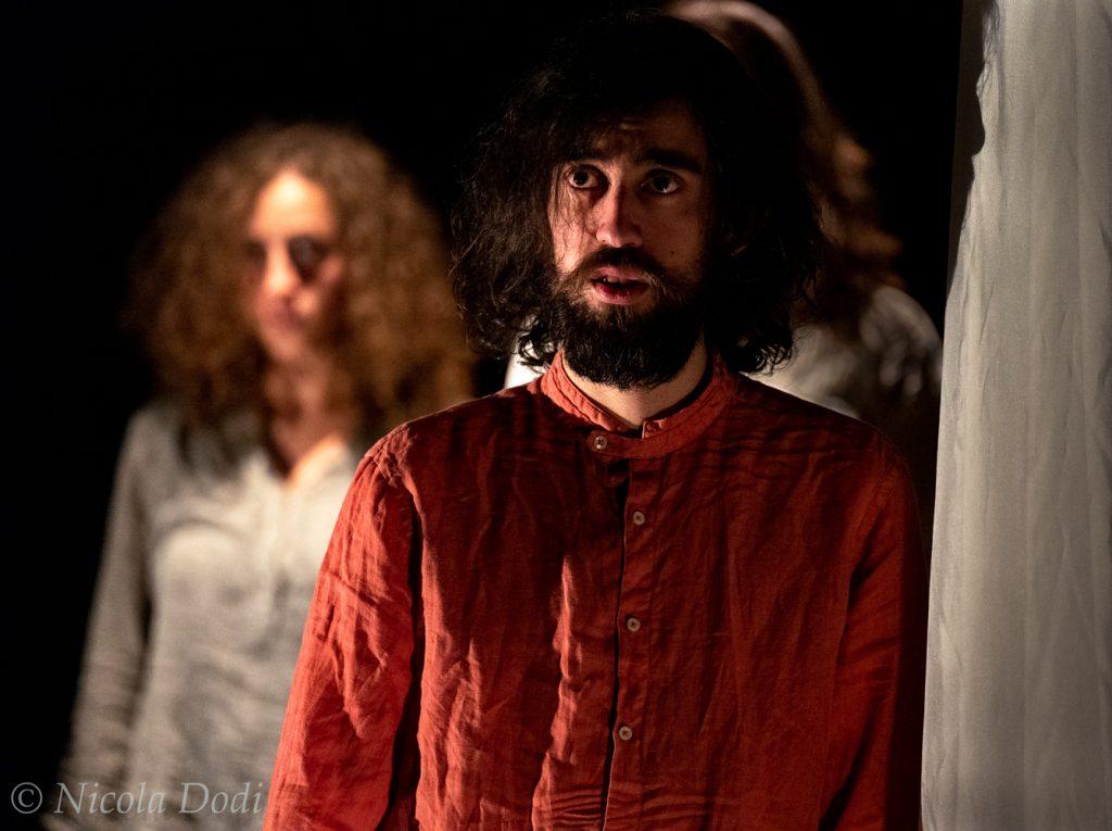 """Fotografia della commedia """"Fran"""" del Teatro San Prospero"""