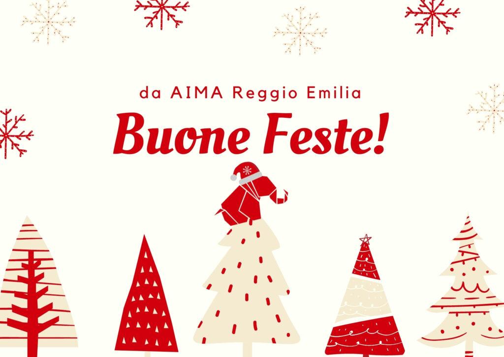 Auguri di Buone Feste da AIMA Reggio Emilia Natale 2020