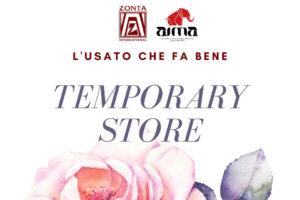 dettaglio volantino Temporary Store 2021