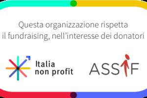 Coccarda ASSIF e Italia non profit