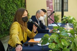 Fotografia conferenza stampa Concentrica 10 maggio 2021