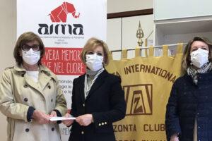 Consegna donazione di Zonta Club ad AIMA Reggio Emilia