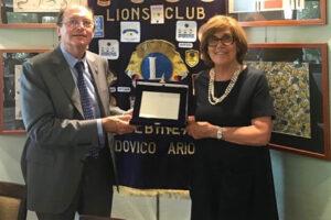 Consegna premio Pro Civitate Lions Club Albinea ad Aima Reggio Emilia