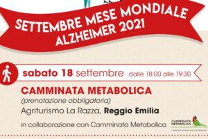 Post Camminata Metabolica 18 settembre 2021