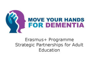 logo Move Your Hands for Dementia MYH4D